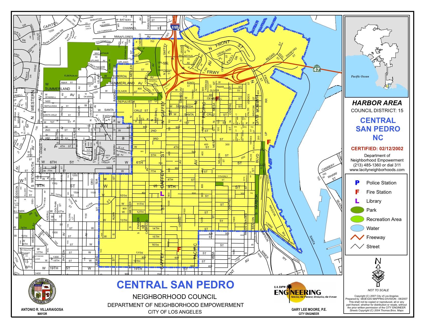 CentralSanPedroNC-map