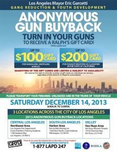 GUN BUY BACK DEC 2013
