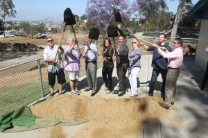 LelandParkground breaking