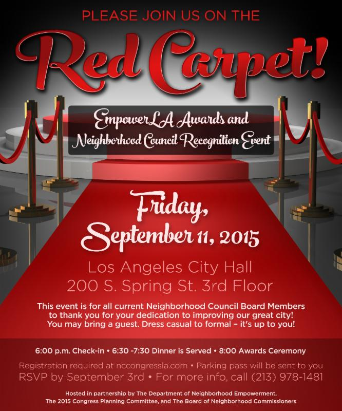 Empower LA Awards and Neighborhood Council Recognition