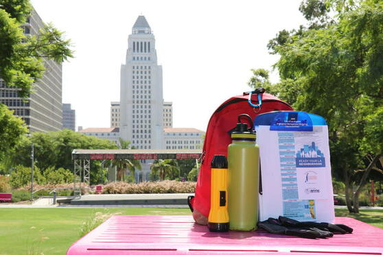 Connecting Angelenos with Emergency Prep Resources