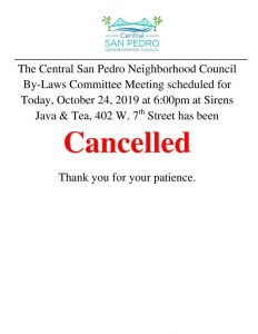 thumbnail of 10-24-19 – cancellation of Bylaws Meeting