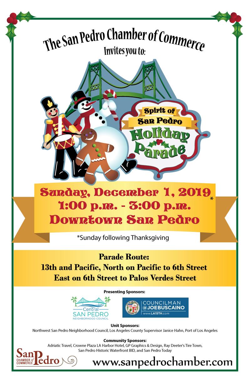39th Annual Spirit of San Pedro Holiday Parade