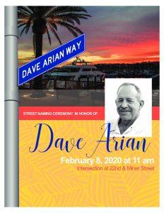 thumbnail of Dave Arian Street Naming Flyer