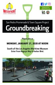 thumbnail of Groundbreaking – Promenade and Town Square Flyer