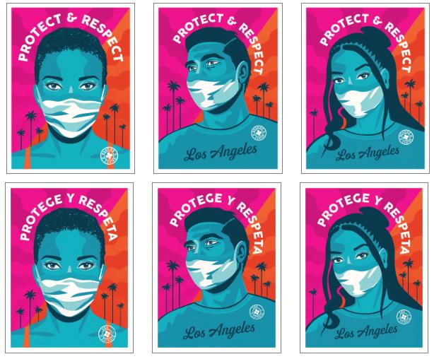 LA Mask Print Project