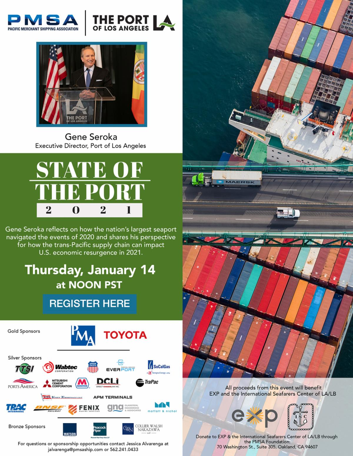 Annual State of the Port Address