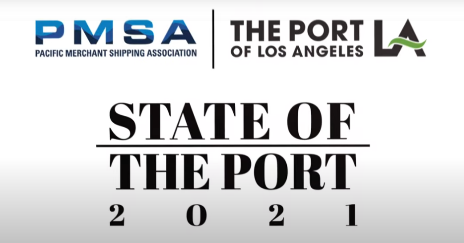 Port of Los Angeles Annual State of the Port Video Presentation